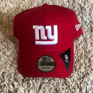 NY Giants Red New Era Cap